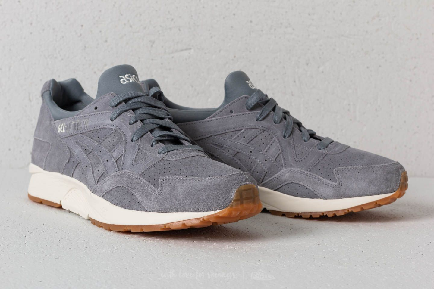 watch f8682 ed66d Asics Gel-Lyte V Stone Grey/ Stone Grey | Footshop