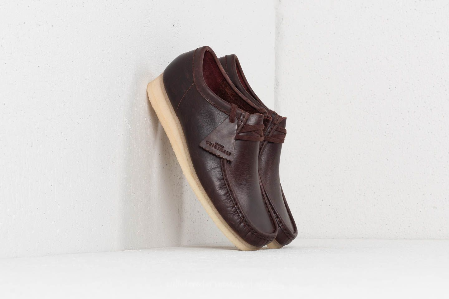 Clarks Originals Wallabee Chestnut Leather