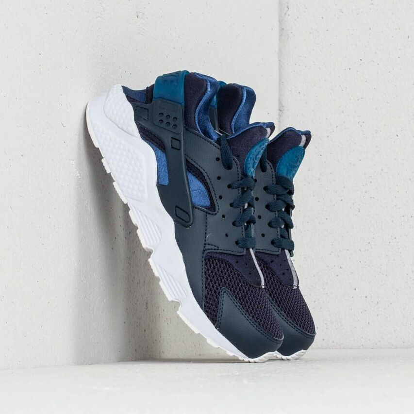 Nike Air Huarache Obsidian/ Gym Blue-White EUR 42