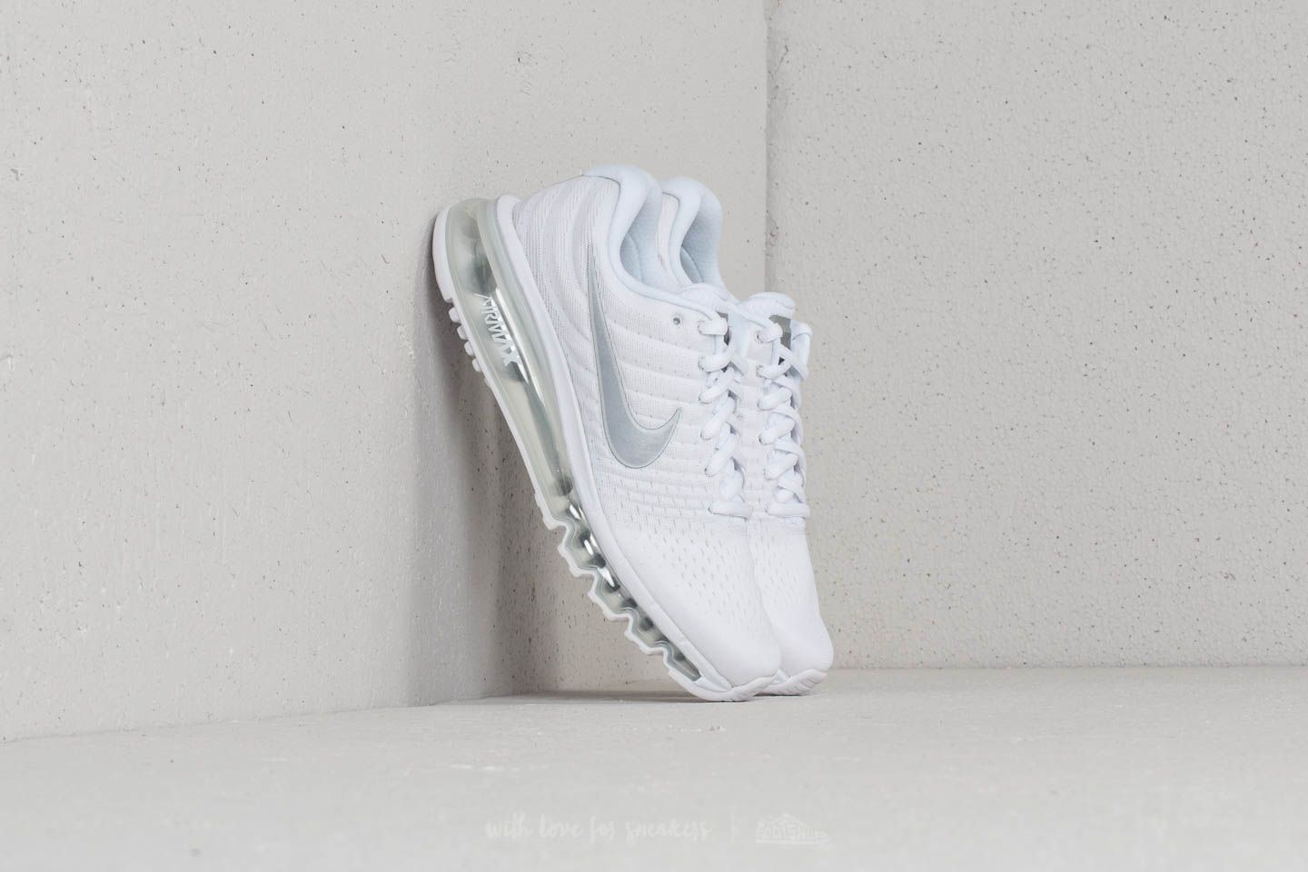 best cheap b86f5 89986 Nike Air Max 2017 (GS) White/ Metallic Silver | Footshop