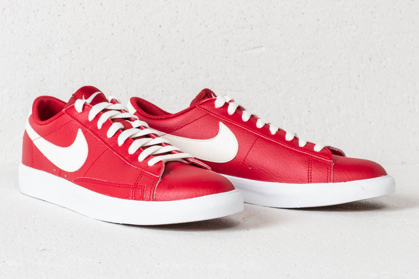 Nike Blazer Low Leather Gym Red  Sail at a great price £76 buy at a68baa8e5