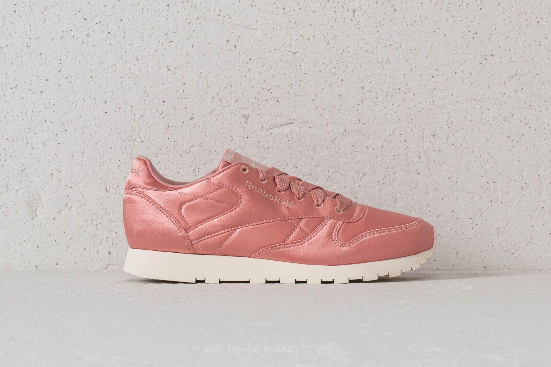 Reebok Classic Leather Satin Chalk Pink Classic White | Footshop