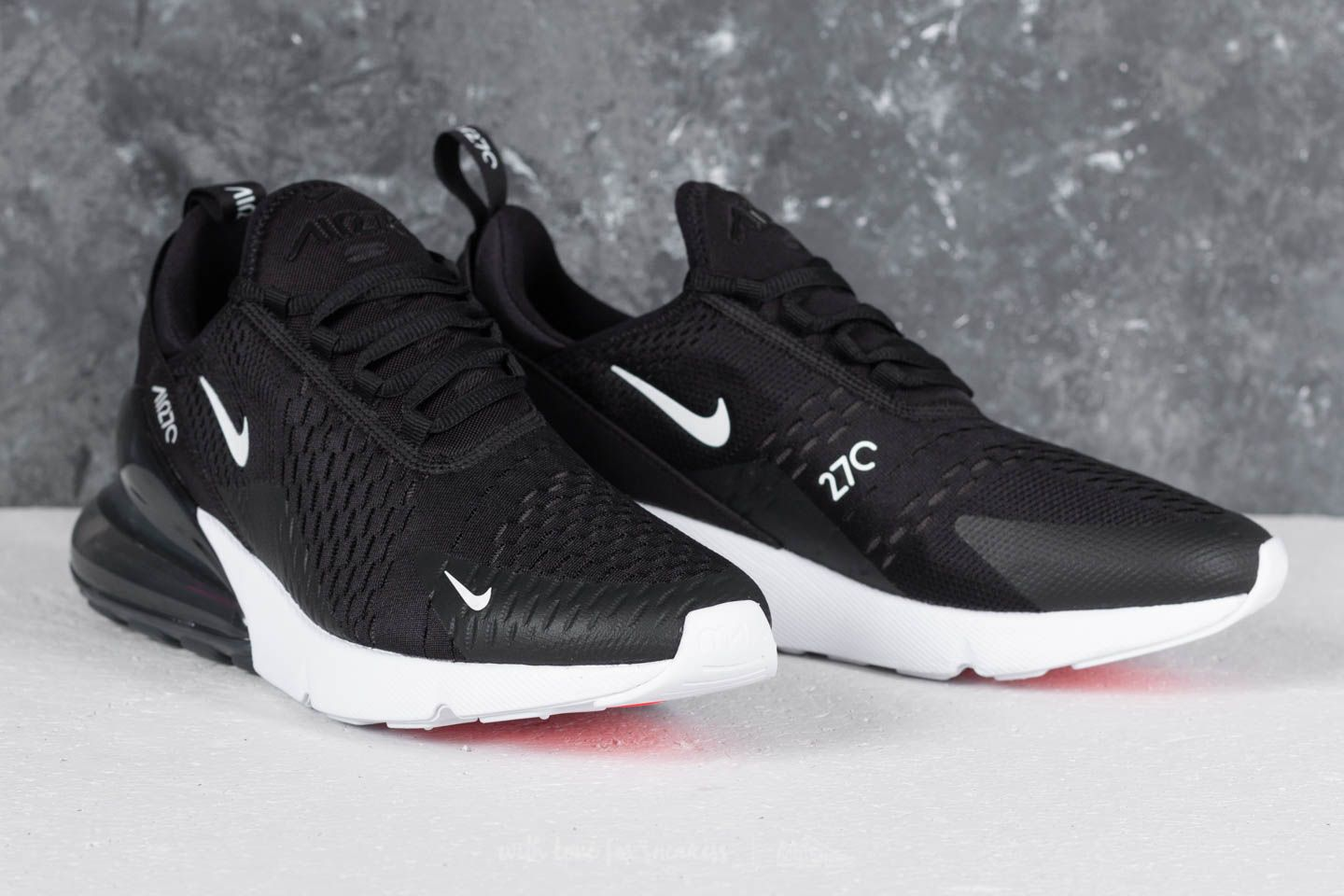 Nike Air Max 270 Black  Anthracite-White-Solar Red at a great price e13d227ab0