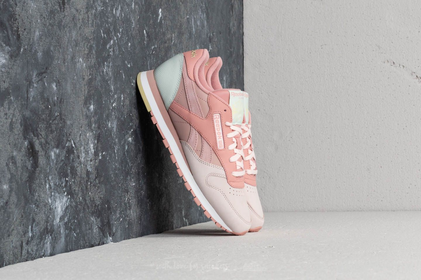 Reebok CL Leather PM Pale Pink  Shell Pink  Opal at a great price 66 d4dac89bbf0e
