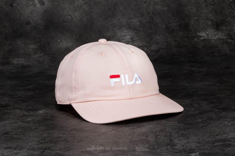 95d88641273a FILA Basic Dad Cap Peach Whip