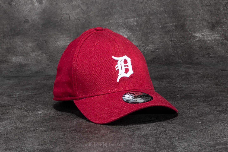 New Era 39Thirty Washed Detroit Tigers Cap Scarlet za skvělou cenu 410 Kč koupíte na Footshop.cz