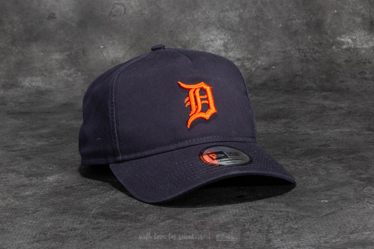 69bf81da New Era 9Forty Washed A Frame Detroit Tigers Cap Navy/ Orange | Footshop