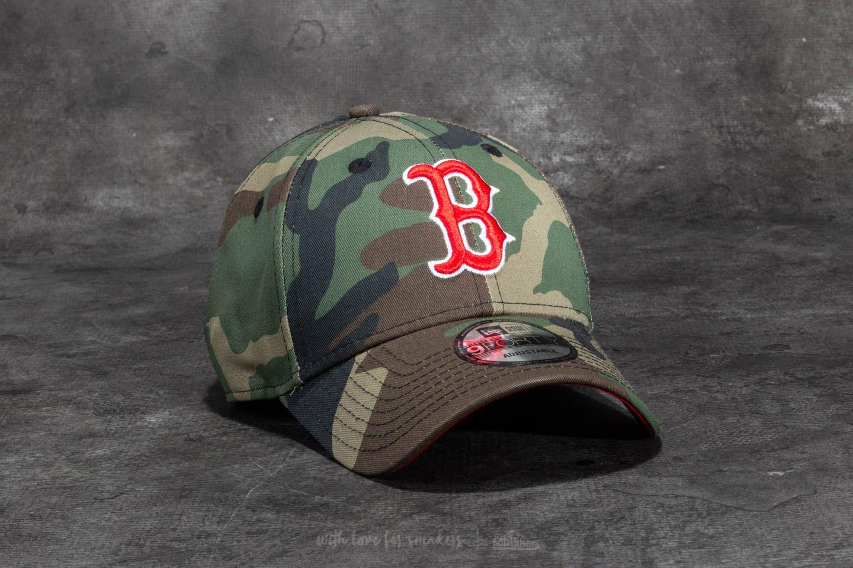 9ed5154d894 New Era 9Forty Camo Team Boston Red Sox Cap Woodland Camo
