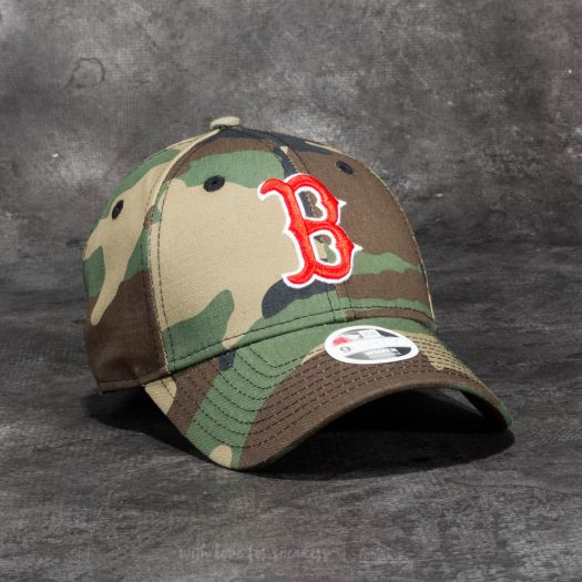 f36b6d5920a New Era 9 Forty Women Camo Team Boston Red Sox Cap Woodland Camo