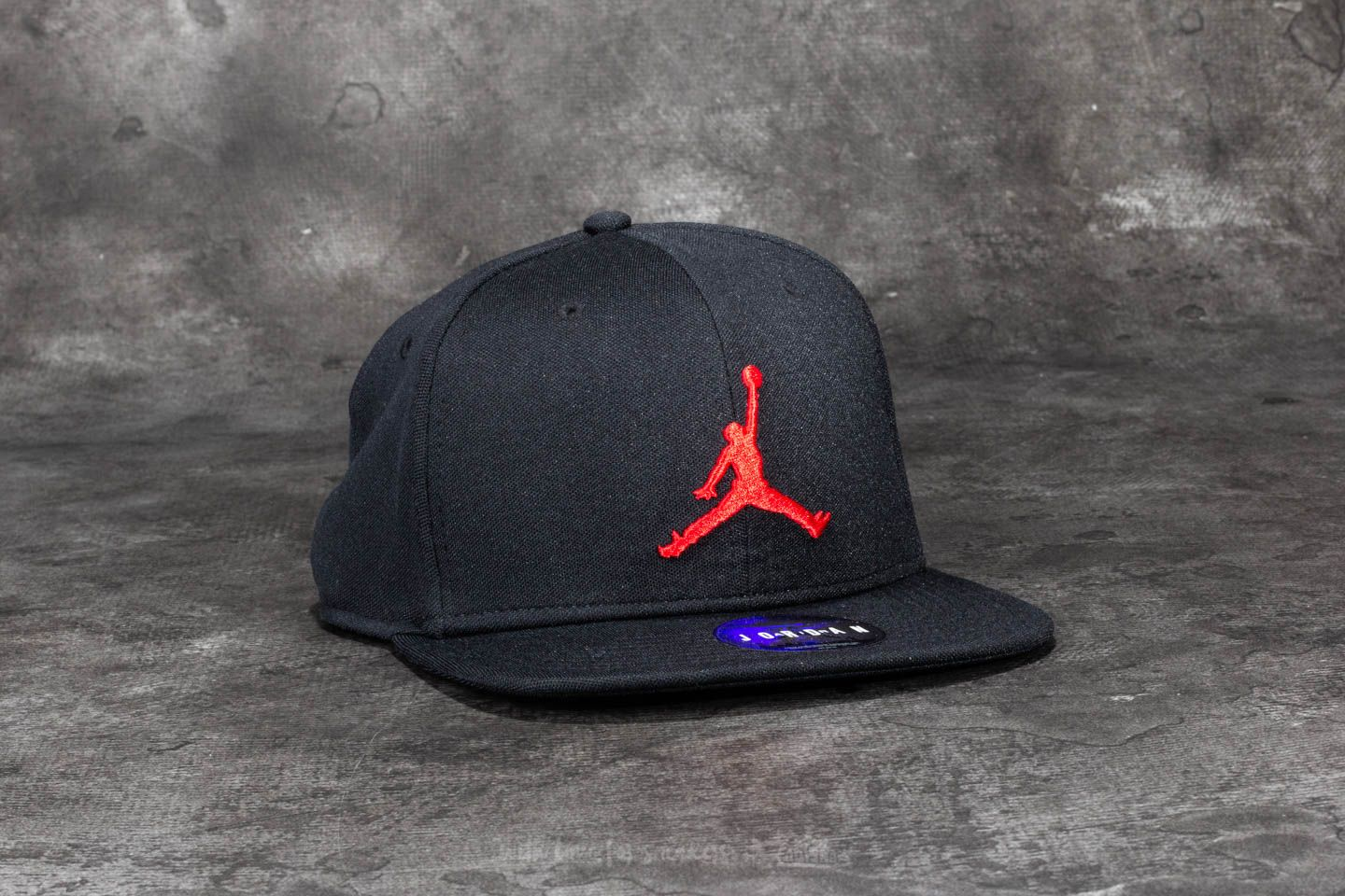 Jordan Jumpman Snapback Black  Gym Red  9fe8015b431
