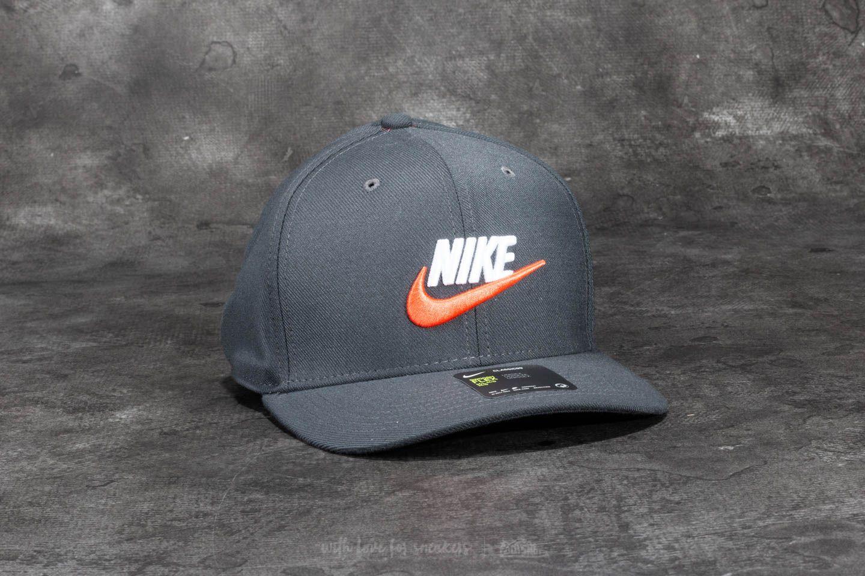 Nike Sportswear Classic 99 Swoosh Cap Anthracite  d92b5ecfb73
