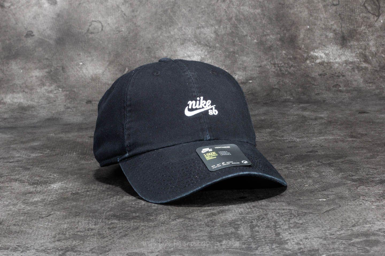 Nike SB Heritage 86 Cap Black  White  12afcb27b10