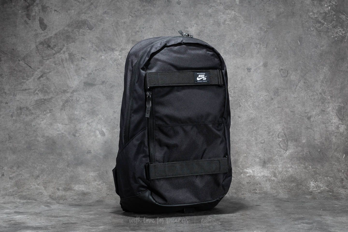 Rugzakken Nike SB Courthouse Backpack Black/ Black/ White