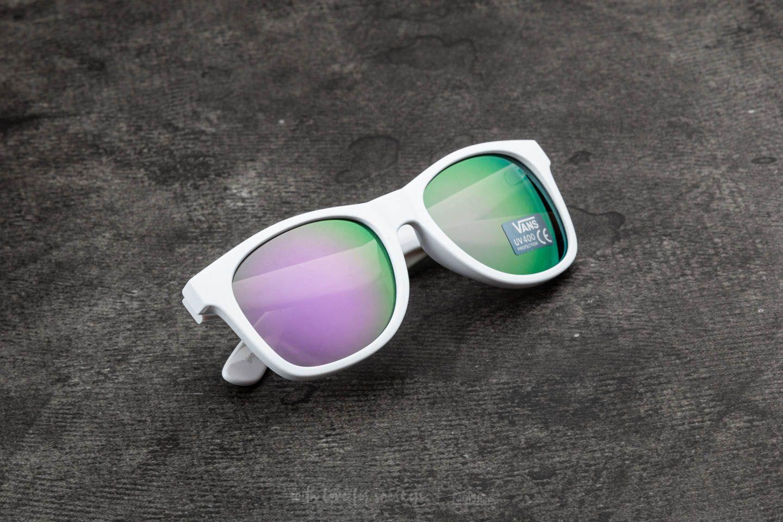 c5f446bd2648ec Vans Spicoli 4 Shade Sunglasses White-Purple