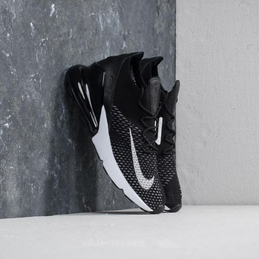Nike Air Max 270 Flyknit W Black White White | Footshop