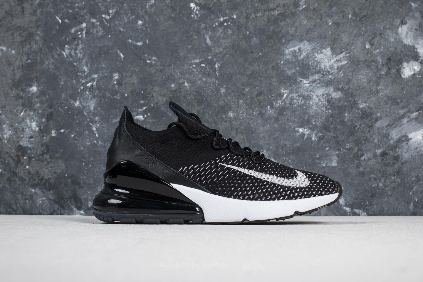 Nike Air Max 270 Flyknit W Black  White-White at a great price 169 3c274728eb