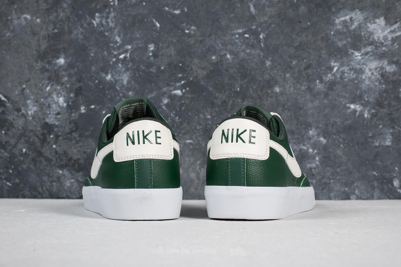 43 Nike Herren Nike Blazer Low Leather FirSail sail gum