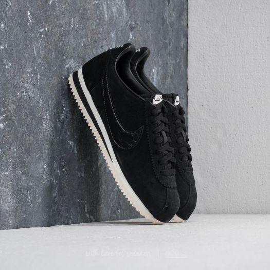 new product 3a822 19a0c Nike Classic Cortez Suede Wmns Black/ Black-Sail | Footshop