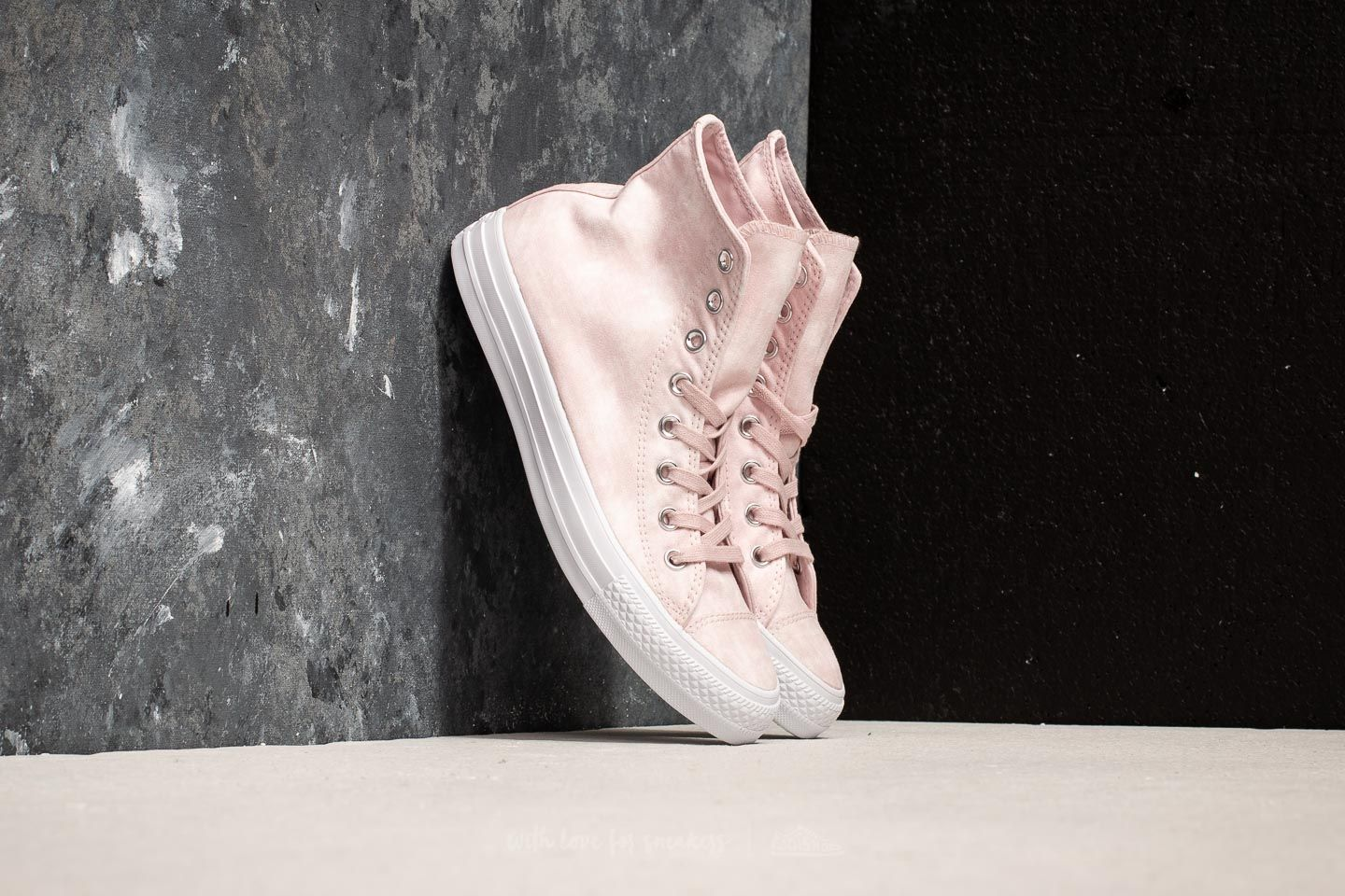 Converse Chuck Taylor All Star Hi Barely Rose  Barely Rose  White ... 481aef238e