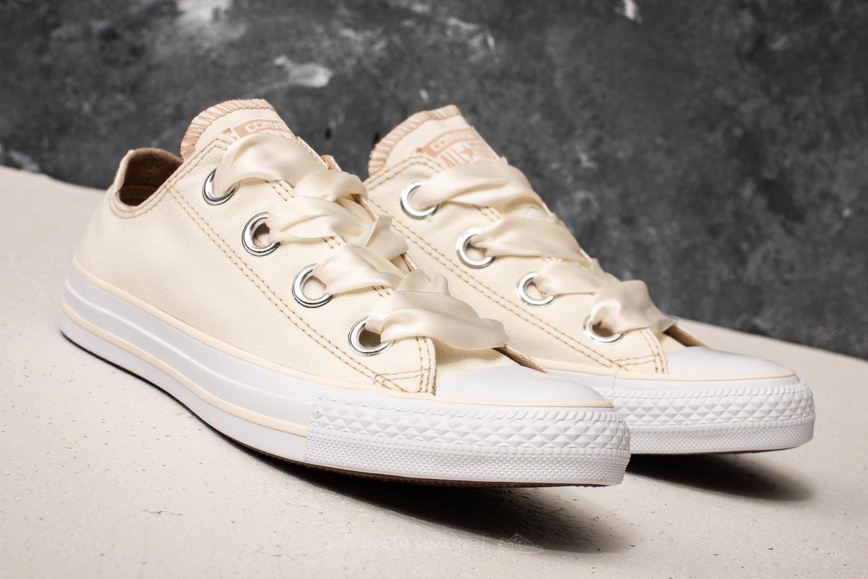 Converse Chuck Taylor All Star Big Eyelets Ox Egret Vintage Khaki White | Footshop
