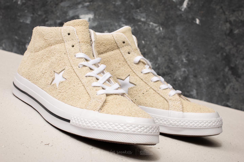 Converse One Star Mid Vapor Lemon White Black   Footshop