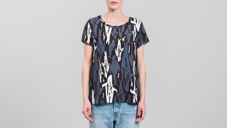 Bibi Chemnitz Seal Womens T-Shirt Black/ Grey/ White za skvělou cenu 870 Kč koupíte na Footshop.cz
