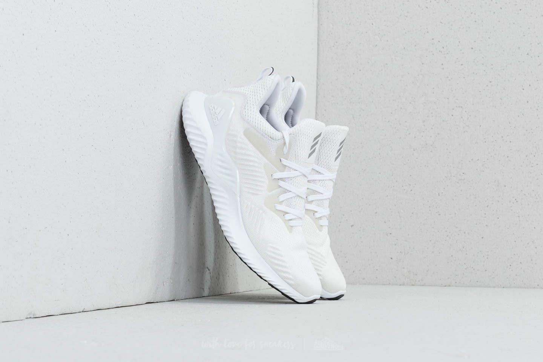 alphabounce adidas white