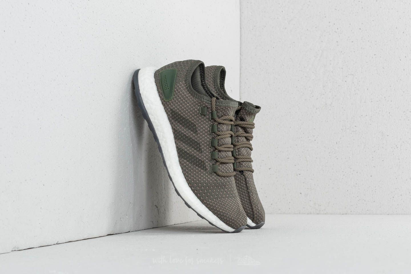 290959316b5b adidas Pureboost Clima Base Green  Night Cargo  Trace Cargo at a great  price 81