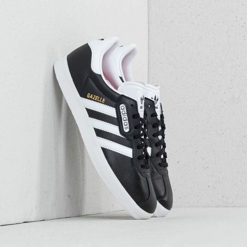 adidas Gazelle Super Essential Core Black/ Ftw White/ Crystal White EUR 44 2/3