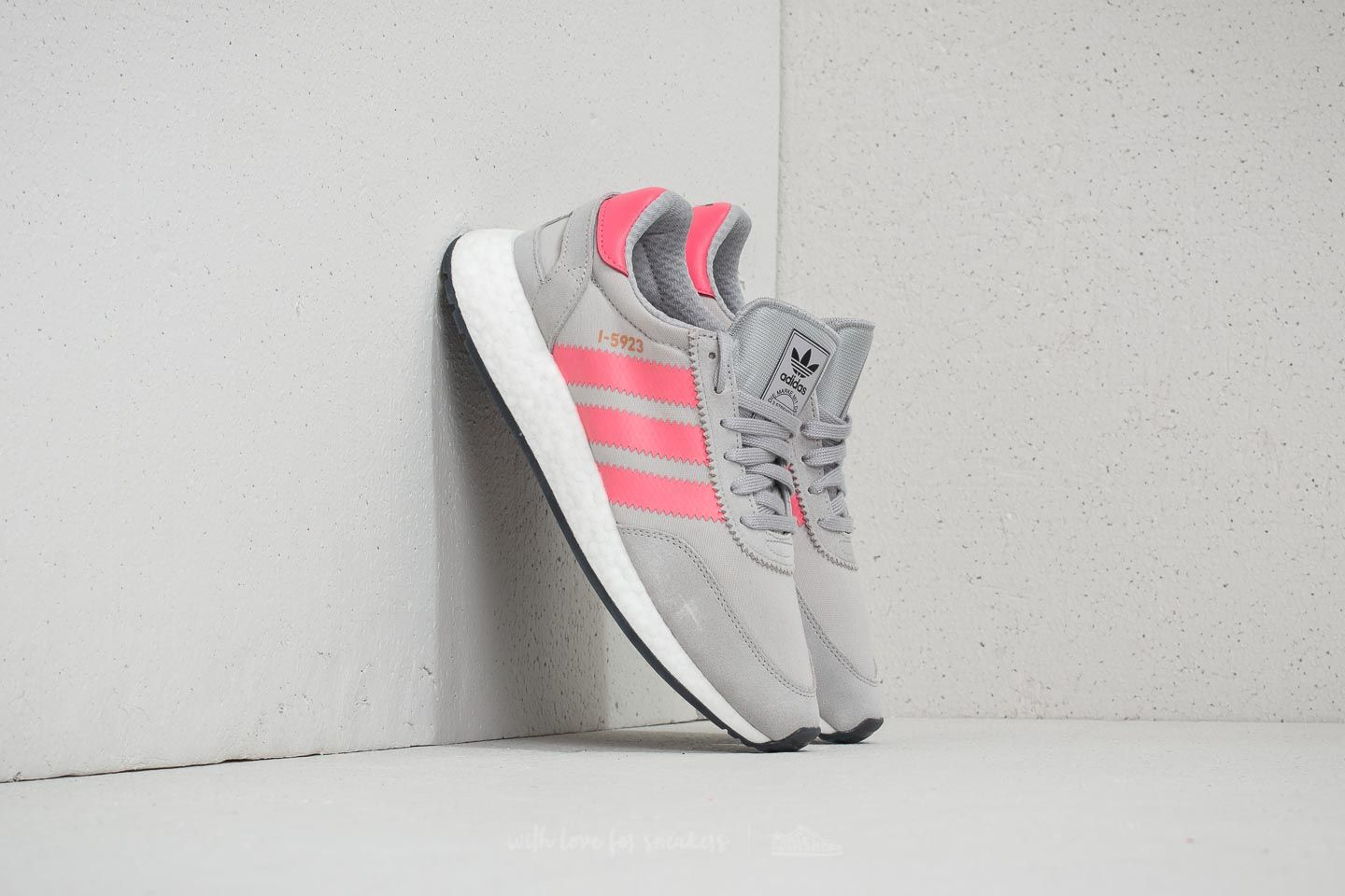 more photos ace87 c3a33 adidas I-5923 W Grey Two  Chalk Pink  Core Black at a great