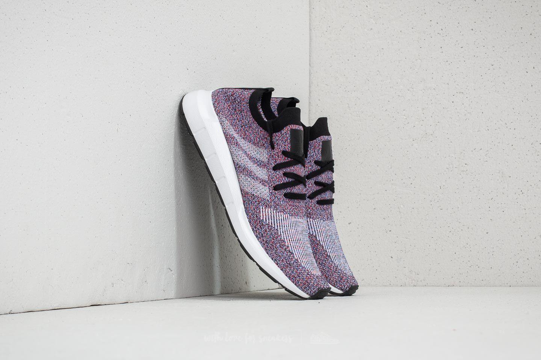 aa451f34aee0 adidas Swift Run Primeknit Purple Hi-Res Red Ftw White Core Black ...