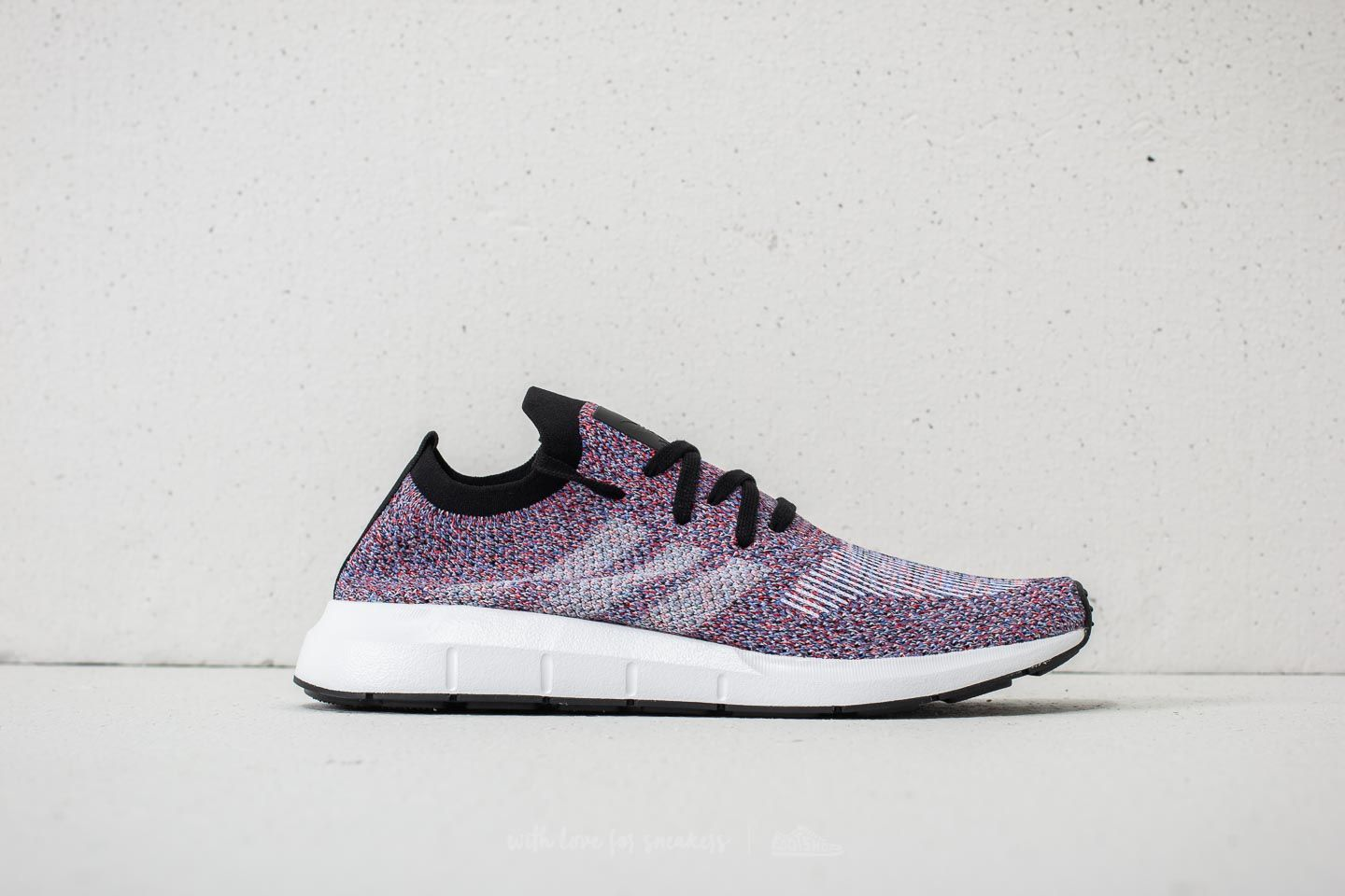 36b6f636bb1de adidas Swift Run Primeknit Purple Hi-Res Red Ftw White Core Black ...