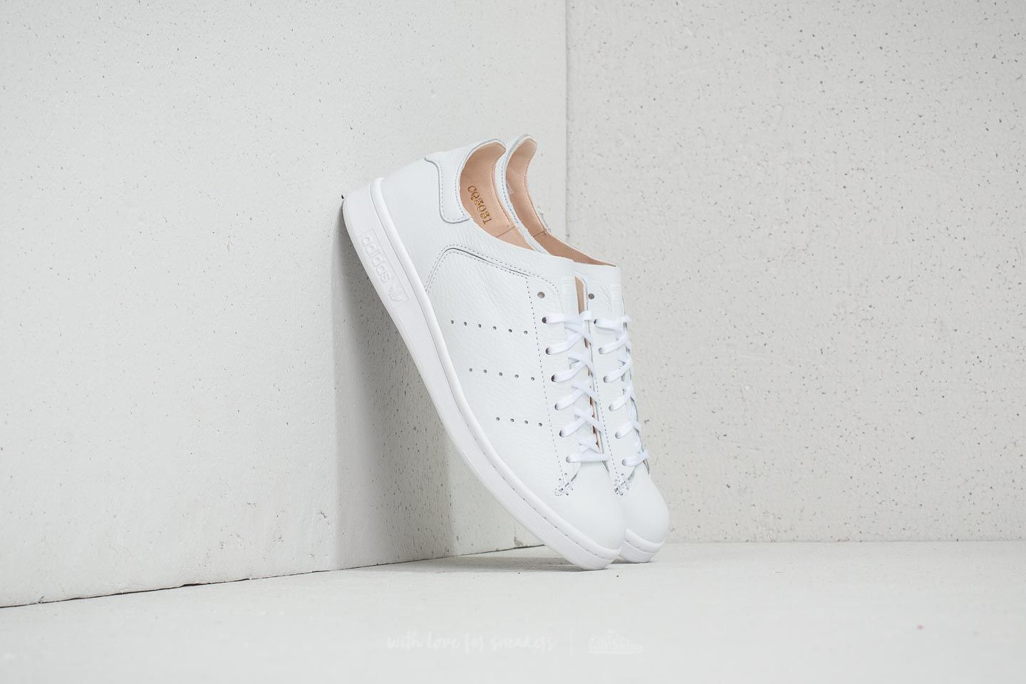 release info on popular brand super cute adidas Stan Smith Leather Sock