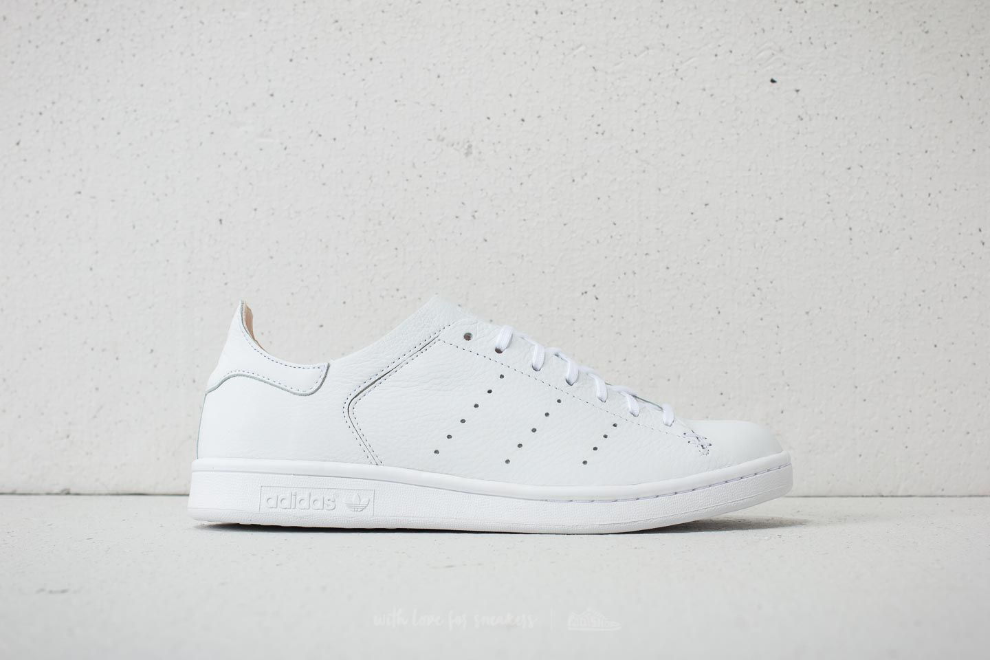 more photos 7bd2f 158a6 adidas Stan Smith Leather Sock Ftw White  Ftw White  Ftw White at a great