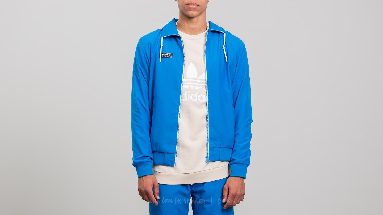 Bundy adidas Cardle Track Jacket Blue Bird