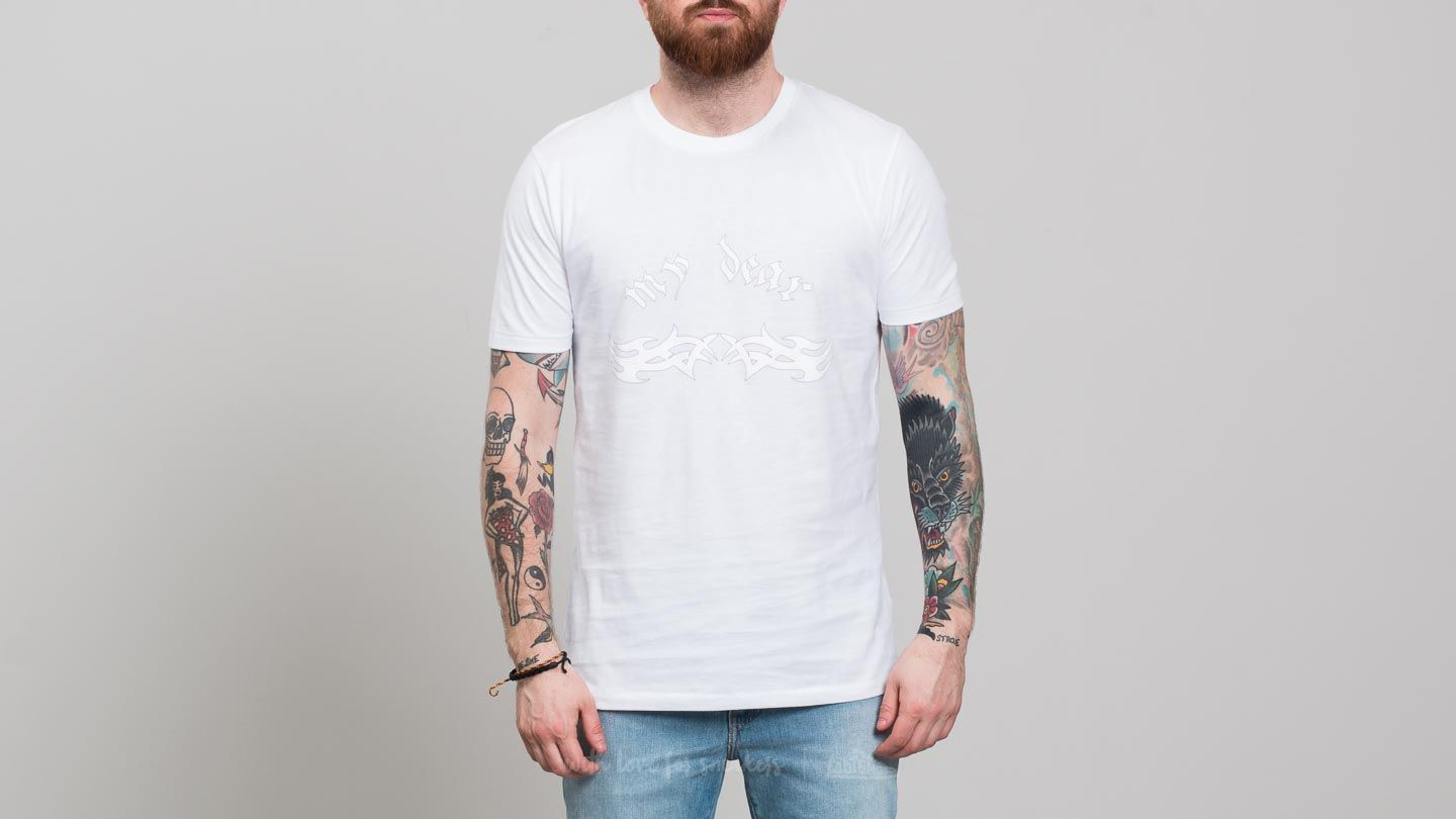 Trička My Dear clothing My Dear Tribal Tee White