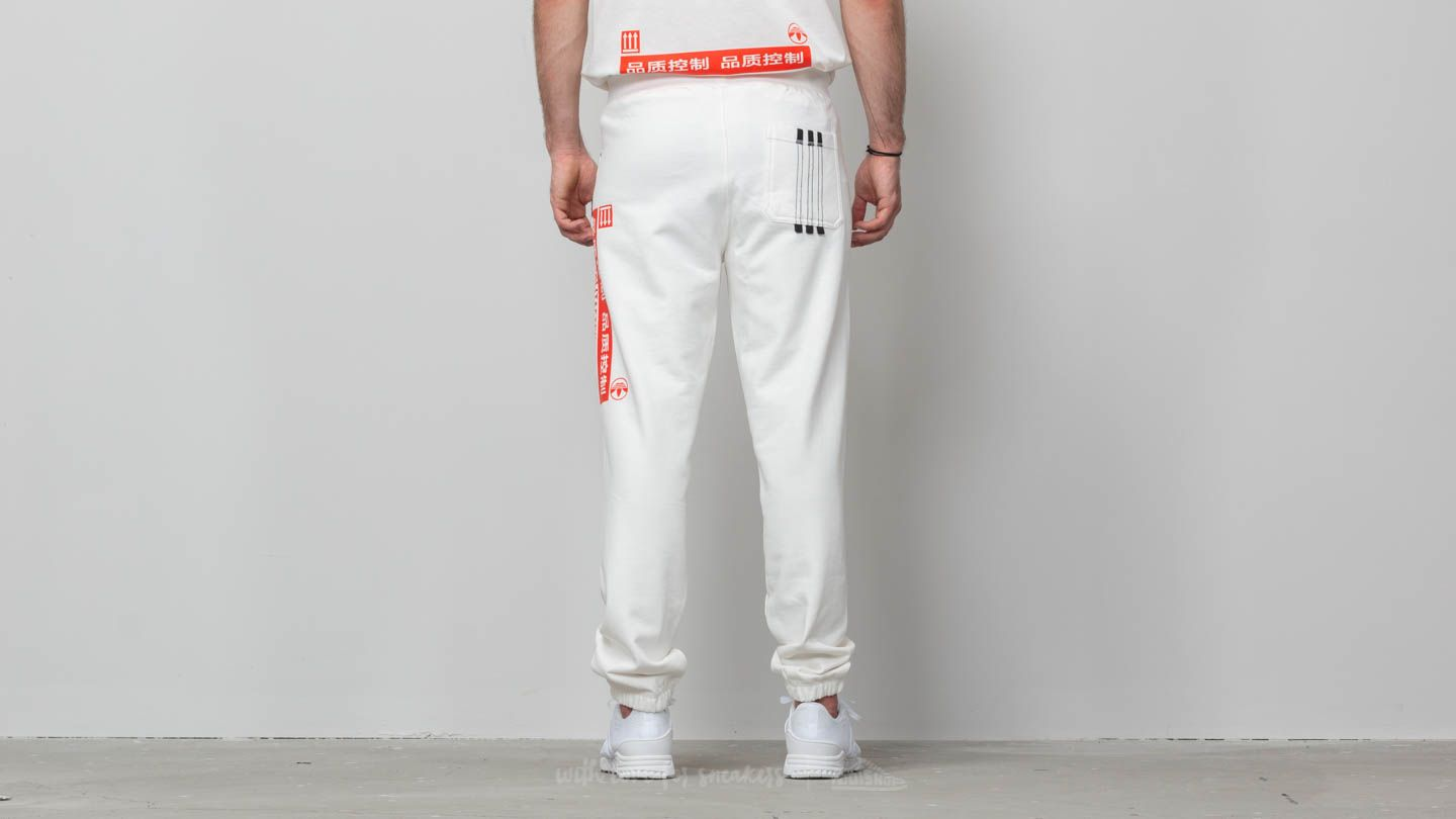 adidas x Alexander Wang Graphic Jogger Core White Bold
