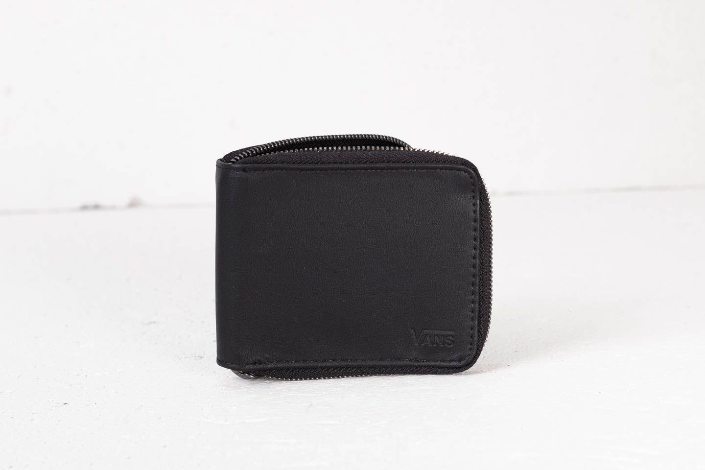 94623b375b0374 Vans Drop V Zip Wallet Black