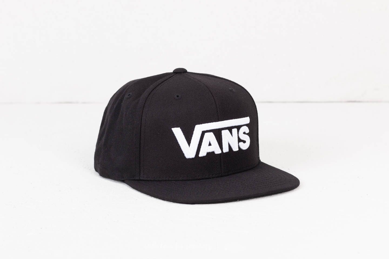 8034b0f1bd4e Vans Drop V II Snapback Black-White