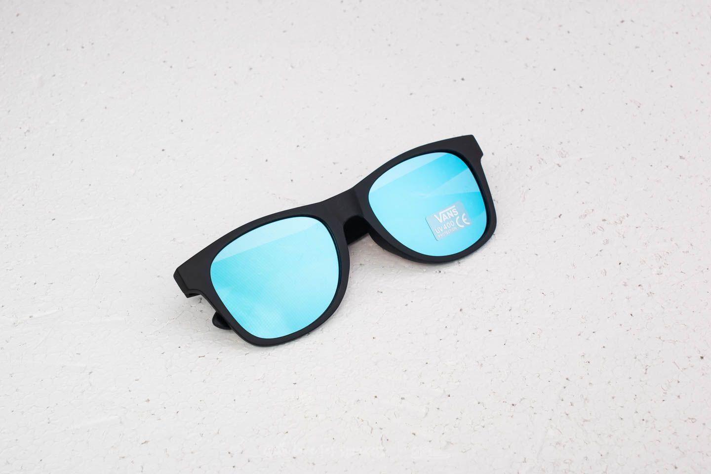 91fccf9832b Vans Spicoli Flat Shade Sunglasses Black-Light Blue | Footshop