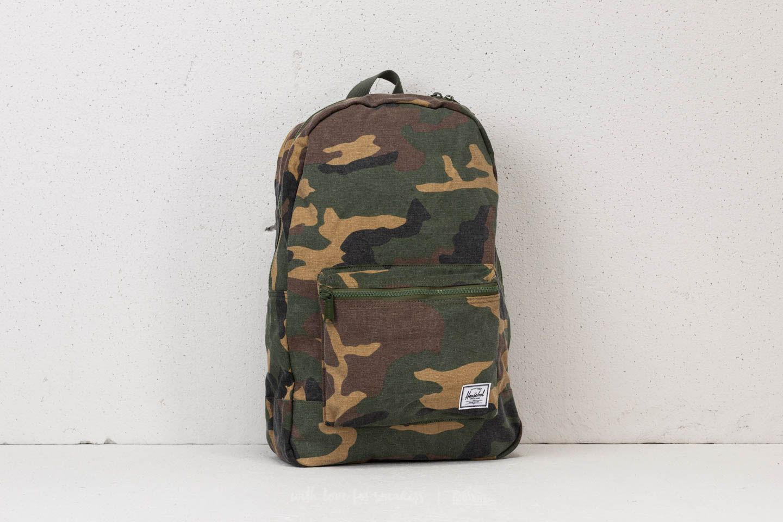 Herschel Supply Co. Daypack Backpack Woodland Camo  95675c5176147