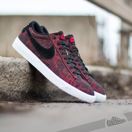 newest 81ef0 a2eb3 Nike Blazer Low Premium Vintage University Red/Black-White ...