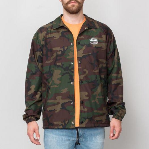 Vans Jacket Vans Torrey Coaches CamoFootshop Torrey n0vmON8w