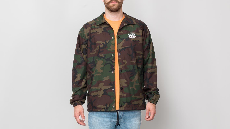 Vans Torrey Camo Coaches Jacket | Jackets
