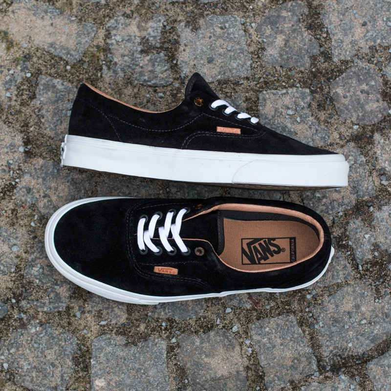 Vans Era CA (Premium Suede) Black | Footshop