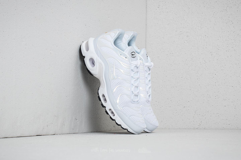 Nike Air Max Plus Premium WMNS White White White Black | Footshop