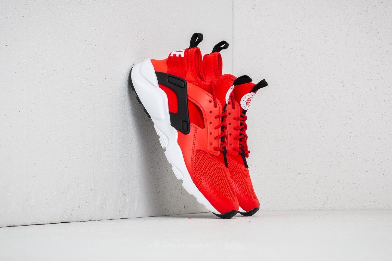 624aa39882764b Nike Air Huarache Run Ultra GS Habanero Red  White-White-Black ...