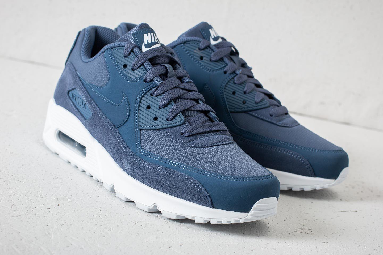 air max 90 essential uomo blu e bianche