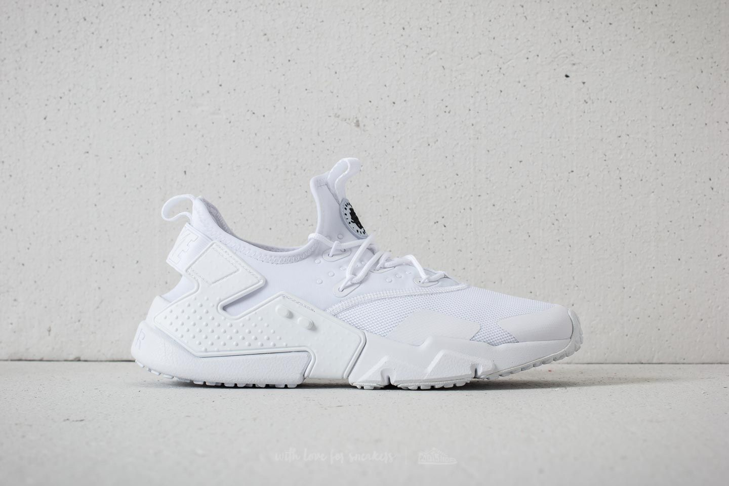 bc2f0dfaf8f6 Nike Air Huarache Drift White  Black at a great price £111 buy at Footshop