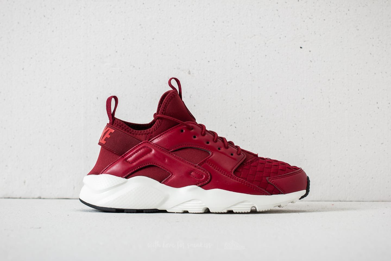 Nike Air Huarache Run Ultra SE Team Red Black Team Red
